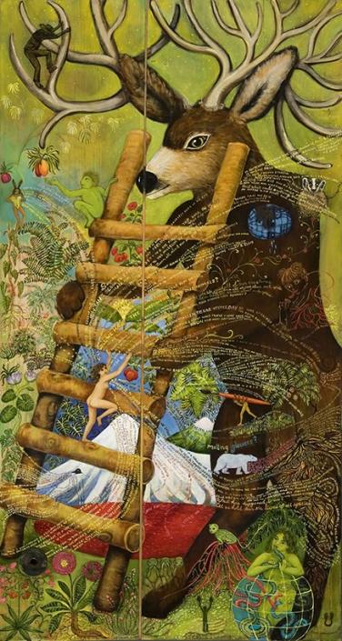 wildlife art narrative paintings irene hardwicke olivieri