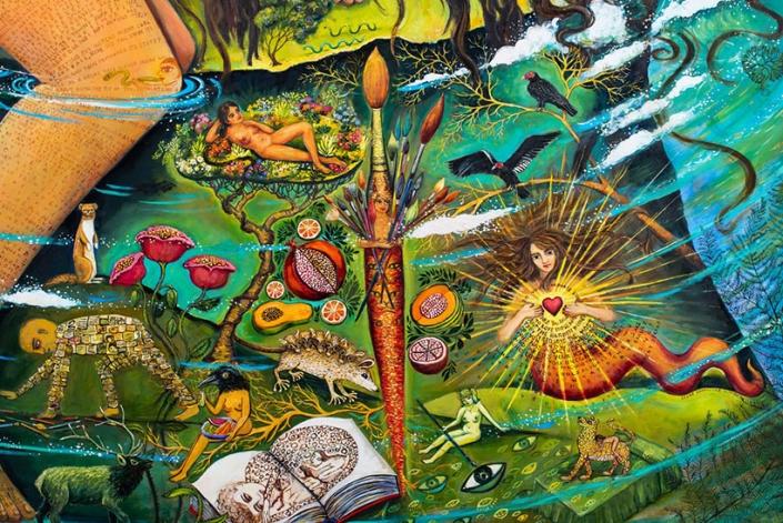 Undercurrents, island painting irene hardwicke olivieri