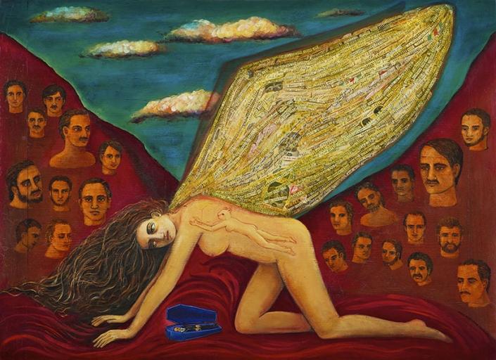 storytelling painting by irene hardwicke olivier
