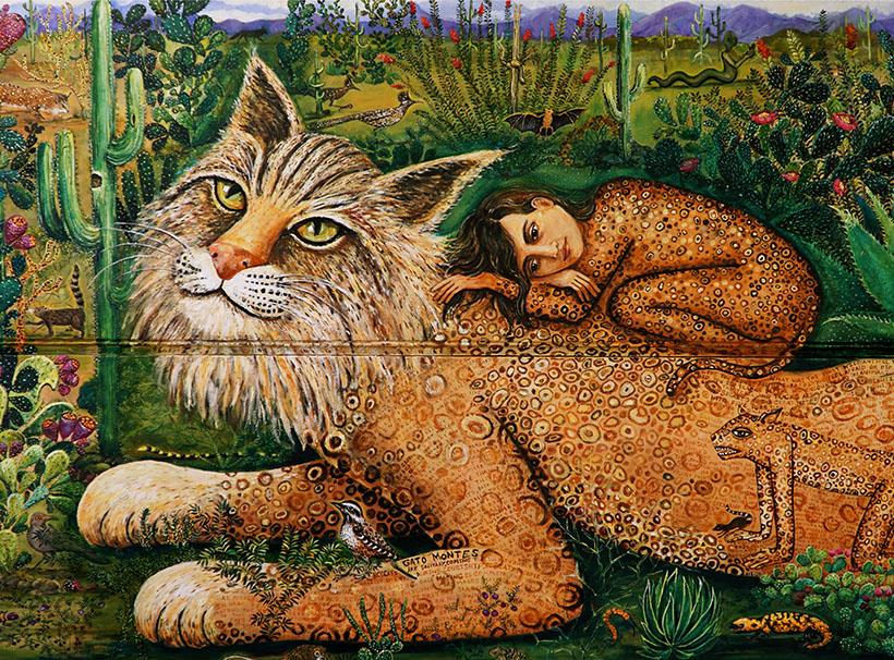 bobcat art by irene hardwicke olivieri