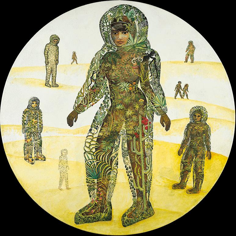 Terrarium suits, Irene Hardwicke Olivieri, pandemic art