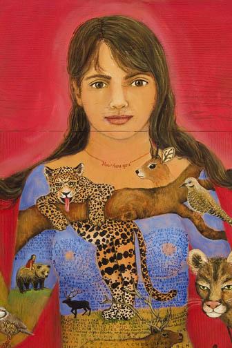 jaguar painting irene olivieri