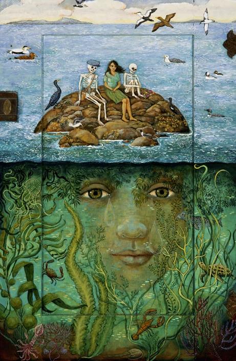 I knew youd come back, surrealism painting, irene hardwicke olivieri