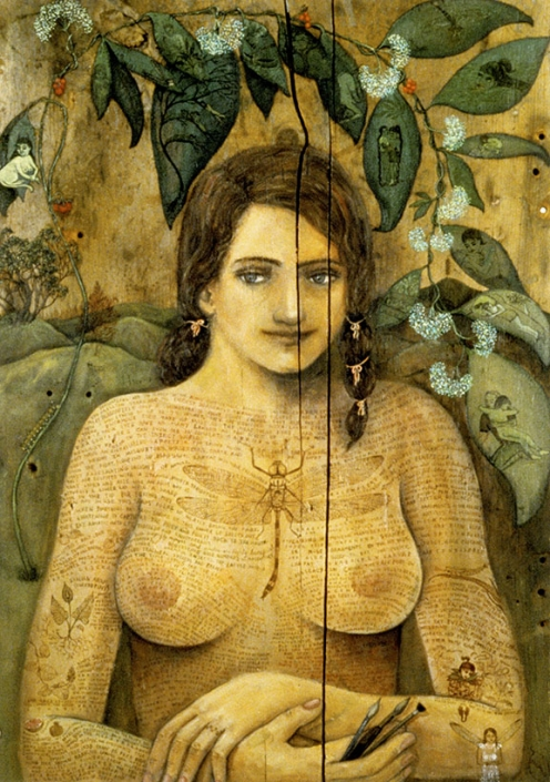 nude figurative painting irene olivieri