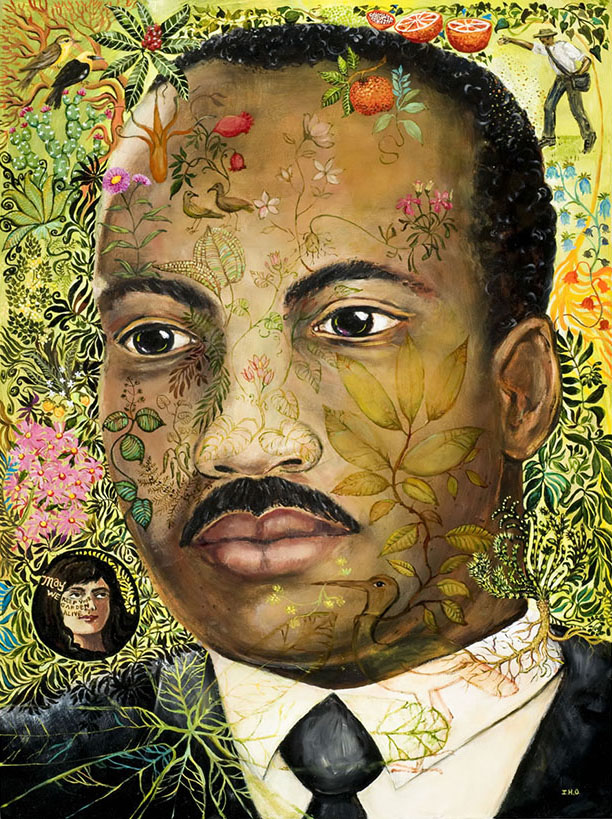 Martin Luther King painting irene olivieri