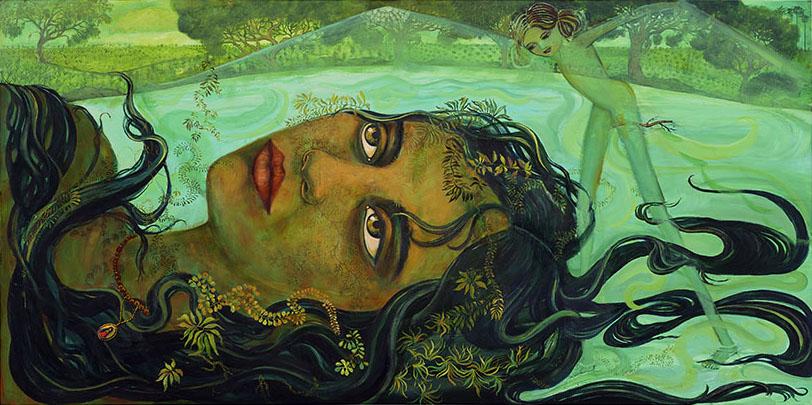 rio grande painting irene olivieri