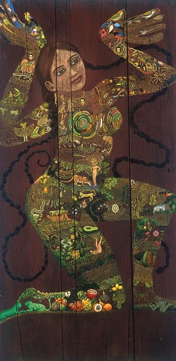 artist irene hardwicke olivieri female storyteller painting