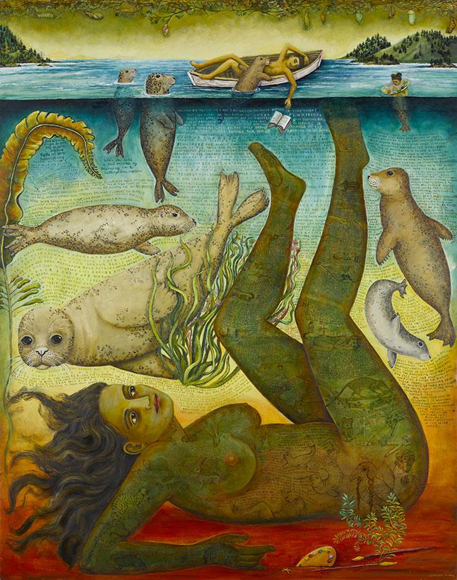 nude painting by artist irene hardwicke olivieri