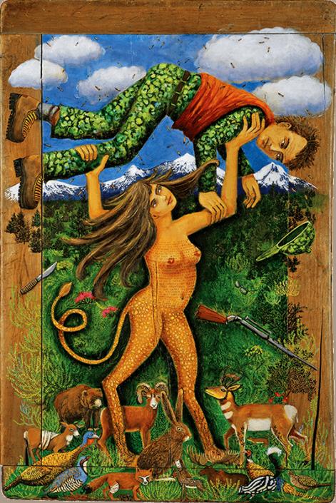 nude painting Irene Hardwicke Olivieri