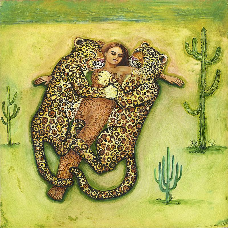 desert painting irene olivieri
