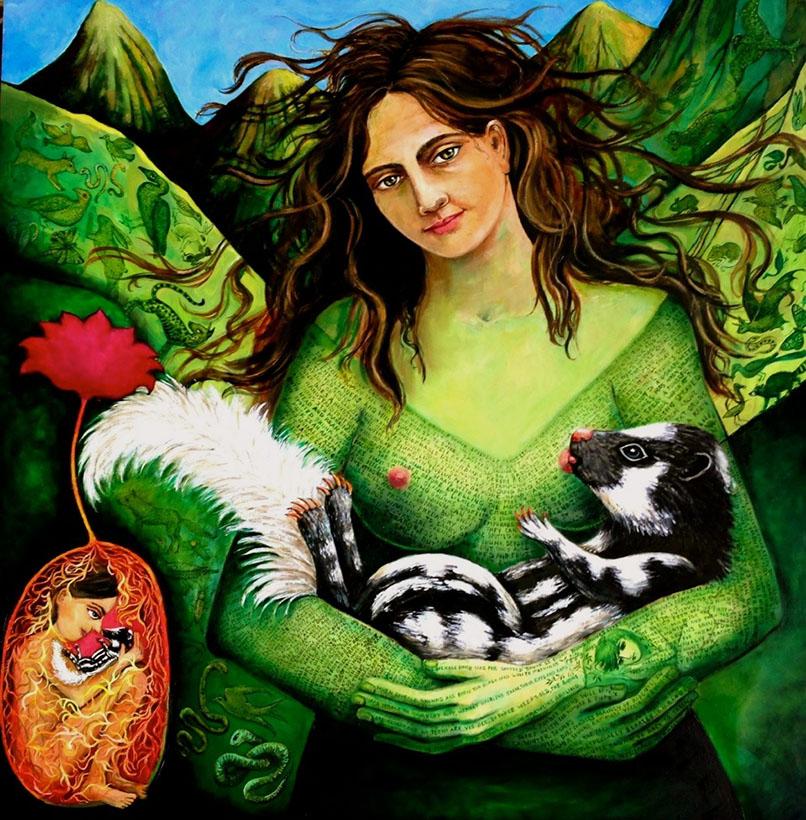 magical realism art irene hardwicke olivieri