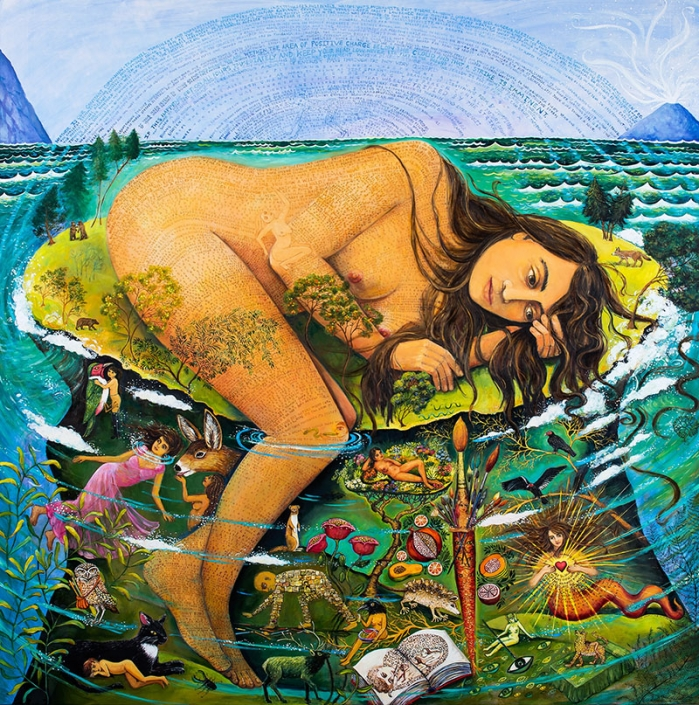 magical realism painting artist irene hardwicke olivieri