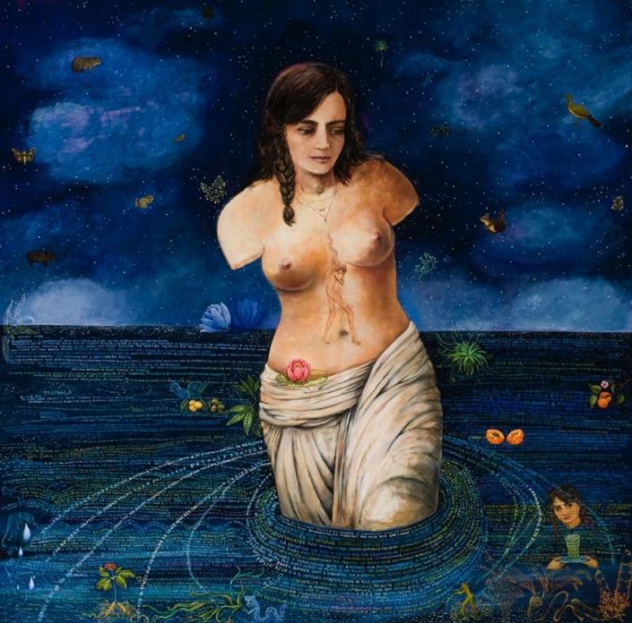 night sea painting irene hardwicke olivieri