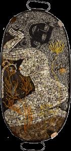 bones irene rattlesnake skin on soapstone hardwicke olivieri