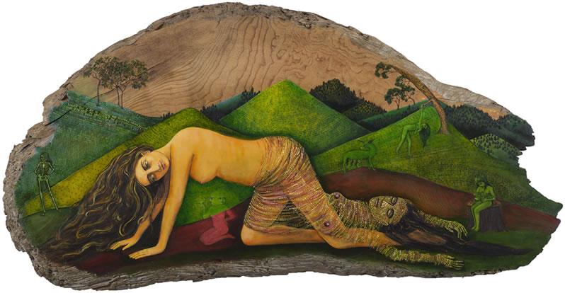 Someday I imagine, irene olivieri art