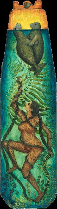 Embrace magical realism painting Irene Hardwicke Olivieri