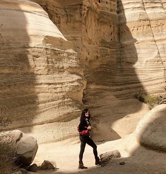Irene Hardwicke Olivieri Tent Rocks NM